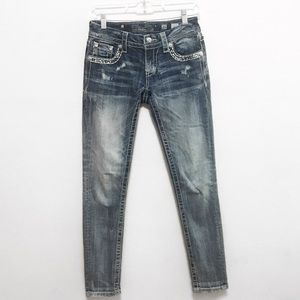Miss Me Signature Skinny Jeans Size 25